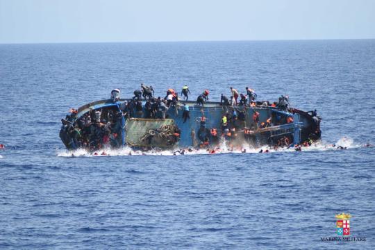 Seit Beginn des Jahres sind Tausende Flüchtlinge im Mittelmeer gestorben. dpa