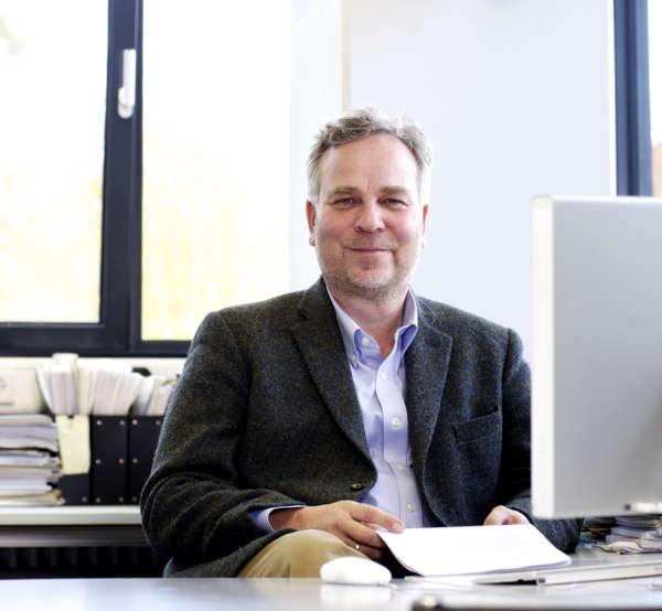 Prof. Axel Meyer, PH.D., Professor für Zoologie und Evolutionsbiologie an der Universität Konstanz. Bild: ebenda