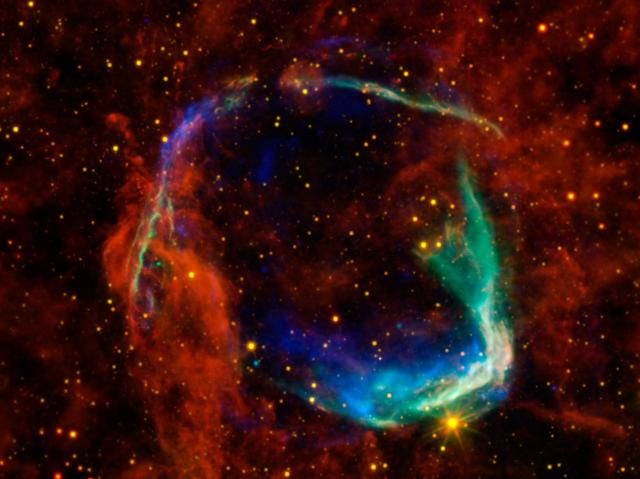 Remnant of supernova RCW 86. Image: NASA BlueShift/CC BY 2.0