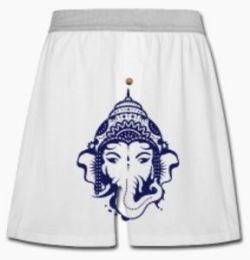Massiv beanstandete Unterhose mit Ganesha-Abbildung (Foto: spreadshirt.de)
