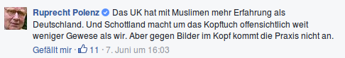 Bild: FB, Screenshot: bb