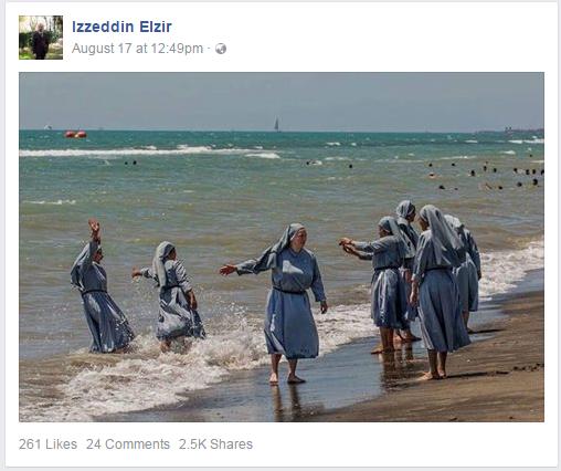 Bild: FB/IzzedinElzir Themenbild