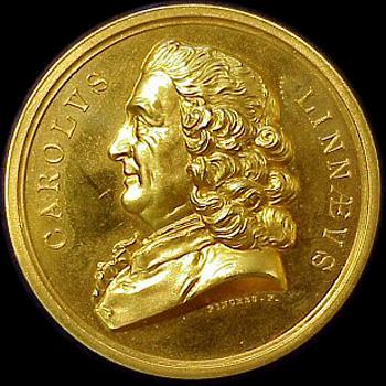 Die Linné-Medaille wird von der Linnean Society of London seit 1888 jährlich vergeben. Bild: PD