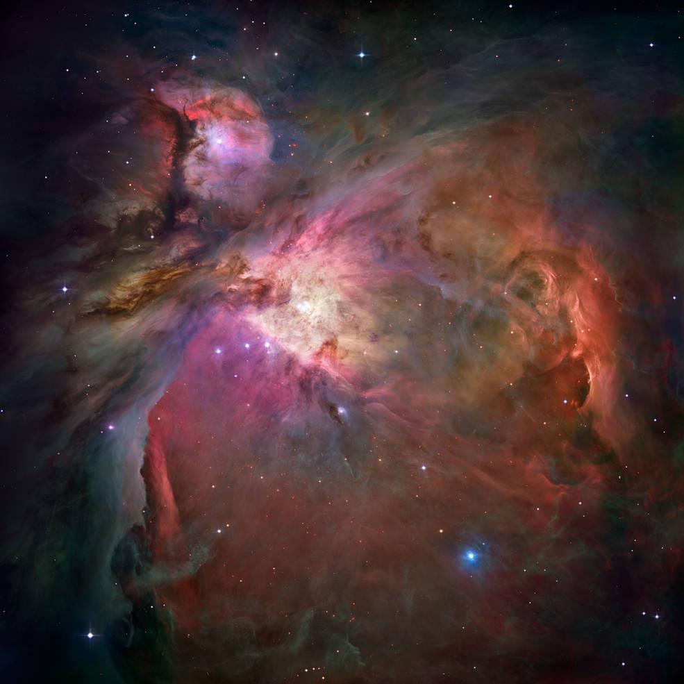 Credits: NASA, ESA, M. Robberto (Space Telescope Science Institute/ESA) and the Hubble Space Telescope Orion Treasury Project Team
