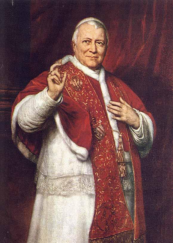 Pius IX. nach einem Porträt von George Peter Alexander Healy, 1871