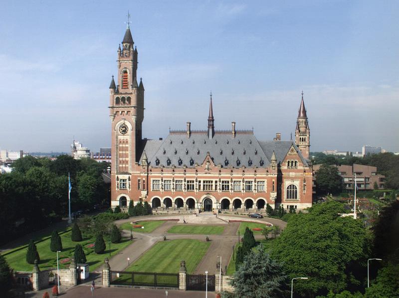 Der Friedenspalast in Den Haag, Dienstgebäude des Internationalen Gerichtshofs. Bild: Yeu Ninje/Wikipedia/PD