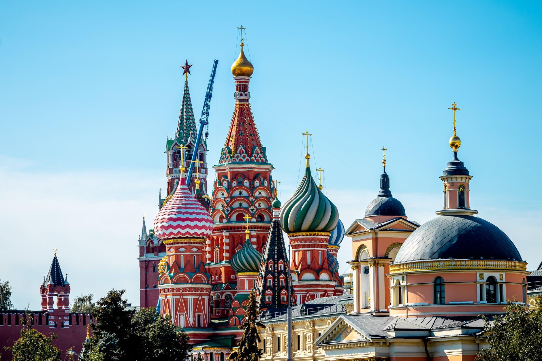 Basilius-Kathedrale Moskau.